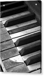 Weathered Music Acrylic Print by Adam Vance