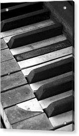 Weathered Music Acrylic Print