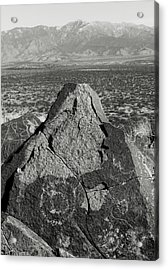 Weathered Peaks Acrylic Print by Joseph Smith