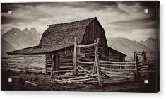 Weathered Peaks Acrylic Print by Lana Trussell