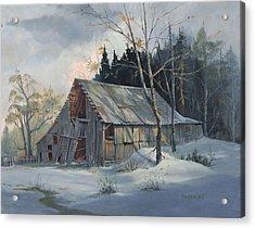 Weathered Sunrise Acrylic Print by Michael Humphries