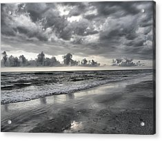 Weathering The Storm Acrylic Print by Rose  Hill