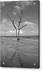 Weathering The Tide Acrylic Print by Donnie Smith