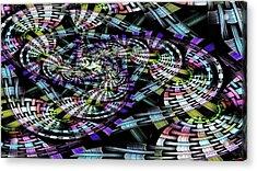 Weaved Acrylic Print