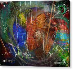 Web Of Collective Unconsciousness Acrylic Print