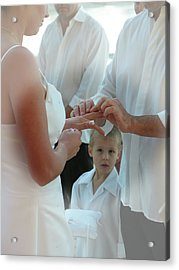 Wedding 4 Acrylic Print by Elisabeth Dubois