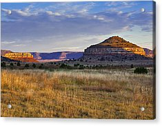 Wedding Cake Ranch Acrylic Print by Charles Warren