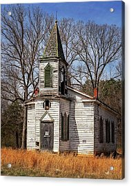 Acrylic Print featuring the photograph Wedding Chapel by Alan Raasch
