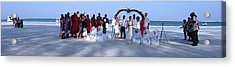 Wedding Complete Panoramic Kenya Beach Acrylic Print