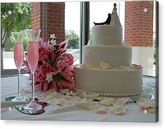 Wedding Day Acrylic Print by Beverly Hammond