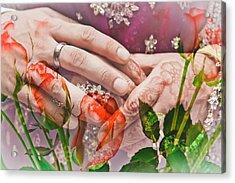 Wedding  Acrylic Print by Tom Gowanlock