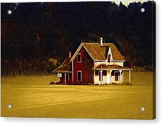 Wee House Acrylic Print