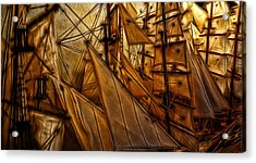 Wee Sails Acrylic Print