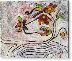 Weeds1 Acrylic Print