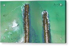 Weekapaug Breachway Acrylic Print