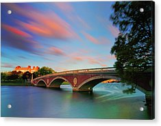 Weeks' Bridge Acrylic Print by Rick Berk