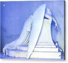 Weeping Angel- Digital Art Acrylic Print