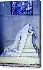 Weeping Angel- Metairie Cemetery - Nola Acrylic Print