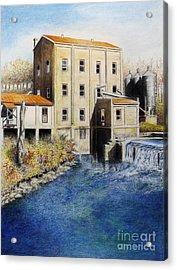 Weisenberger Mill Acrylic Print