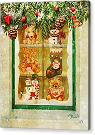 Welcome Christmas Acrylic Print