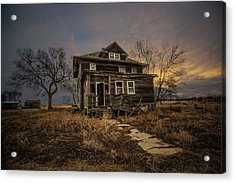 Acrylic Print featuring the photograph Welcome Home by Aaron J Groen