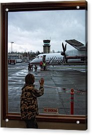 Welcome Home Acrylic Print by Donna Blackhall