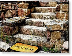 Welcome Steps Acrylic Print