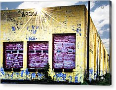 Welcome Acrylic Print by Tamyra Ayles