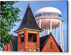 Welcome To Bentonville Arkansas Acrylic Print
