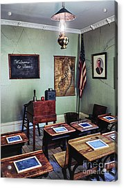 Welcome To Class 1901 Acrylic Print