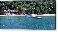 Welcome To Cooper Island Acrylic Print by Ginger Howland