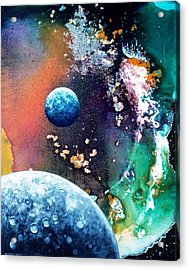 Welcome To Cydonia Acrylic Print by Lee Pantas