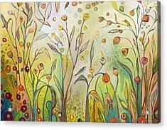 Welcome To My Garden Acrylic Print
