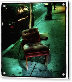 Acrylic Print featuring the photograph Welcome To My Living Room, Pull Up A by Mr Photojimsf