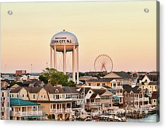 Welcome To Ocean City, Nj Acrylic Print