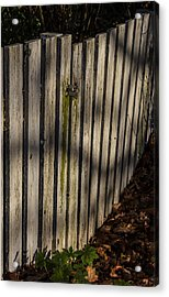 Acrylic Print featuring the photograph Welcome To The Backyard by Odd Jeppesen