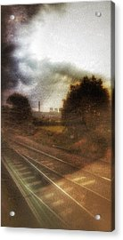 Acrylic Print featuring the photograph Welcome To The North by Isabella F Abbie Shores FRSA