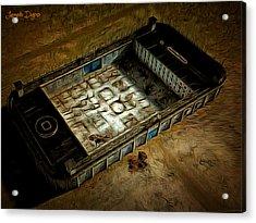 Welcome To Your Prison Acrylic Print by Leonardo Digenio