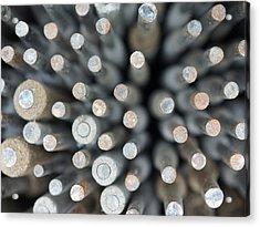 Welding Rods Acrylic Print by Ernie Echols