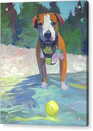 Well Are You Gonna Throw It Acrylic Print