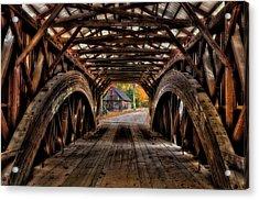 We'll Cross That Bridge Acrylic Print