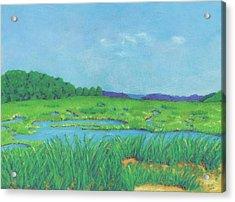 Wellfleet Wetlands Acrylic Print