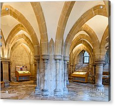 Wells Cathedral Undercroft Acrylic Print