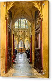 Wellscathedral, The Quire Acrylic Print