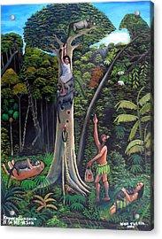 Man Of The Wild Acrylic Print