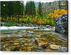Wenatchee River Acrylic Print