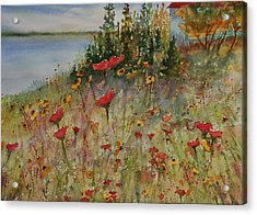 Wendy's Wildflowers Acrylic Print
