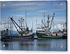 Wespak And Pender Isle Acrylic Print by Randy Hall