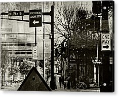 Acrylic Print featuring the photograph West 7th Street by Susan Stone