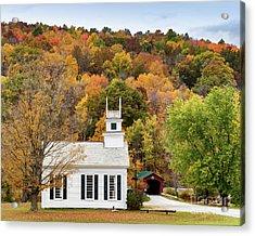 West Arlington Church Acrylic Print